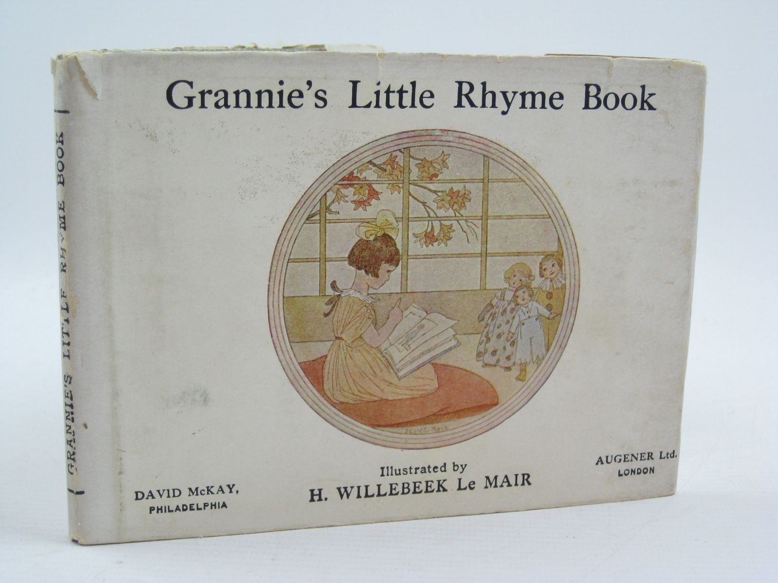 Photo of GRANNIE'S LITTLE RHYME BOOK illustrated by Willebeek Le Mair, Henriette published by Augener Ltd., David McKay (STOCK CODE: 1507459)  for sale by Stella & Rose's Books