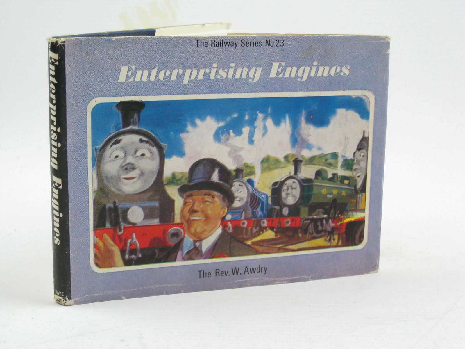 Photo of ENTERPRISING ENGINES written by Awdry, Rev. W. illustrated by Edwards, Gunvor<br />Edwards, Peter published by Kaye & Ward Ltd. (STOCK CODE: 1507539)  for sale by Stella & Rose's Books