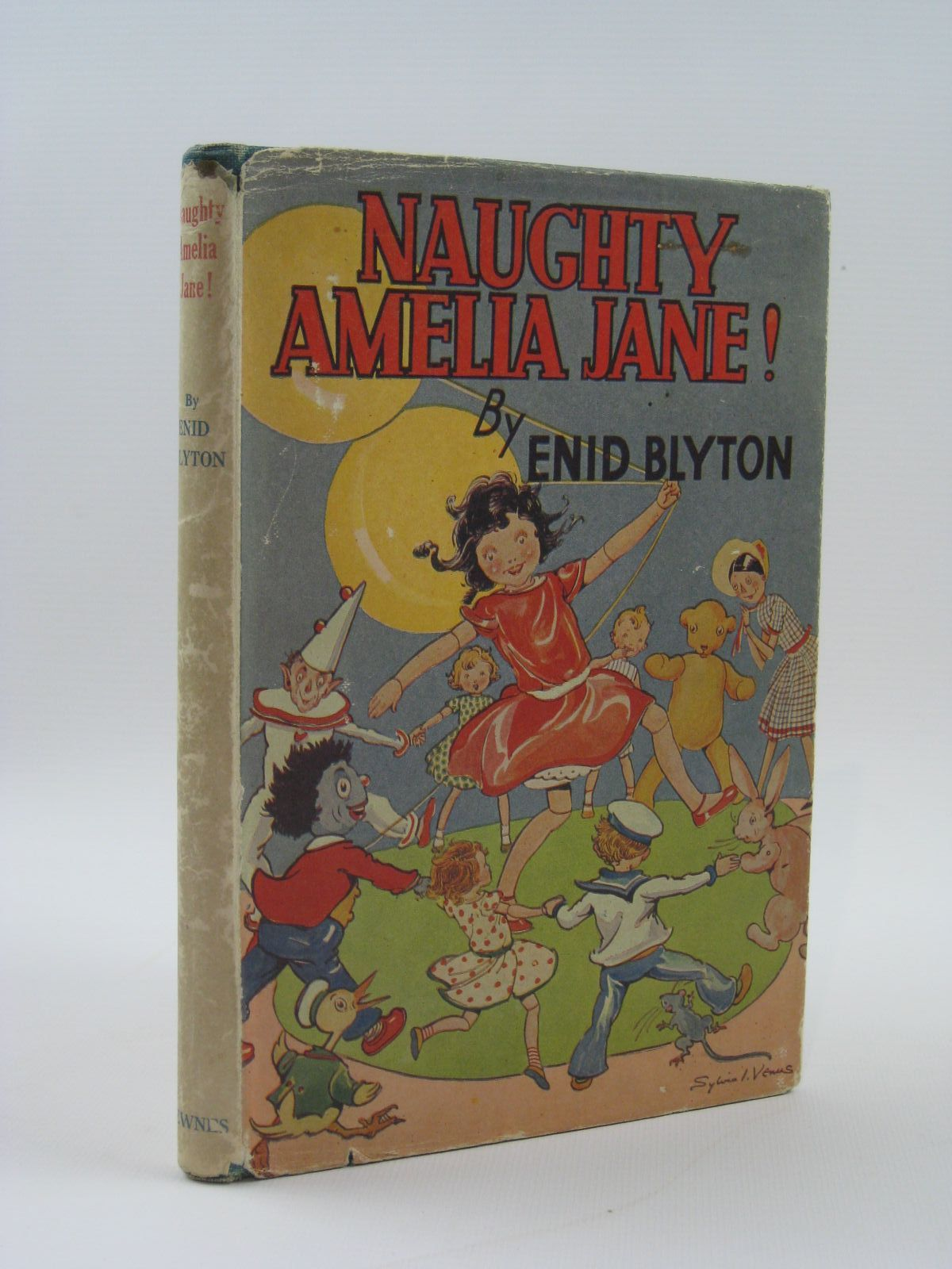 Photo of NAUGHTY AMELIA JANE! written by Blyton, Enid illustrated by Venus, Sylvia published by George Newnes Ltd. (STOCK CODE: 1507566)  for sale by Stella & Rose's Books