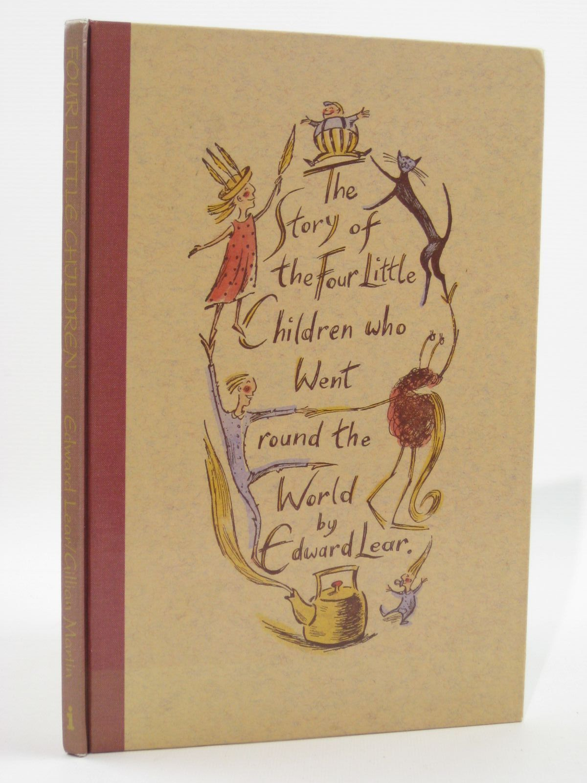 Photo of THE STORY OF THE FOUR LITTLE CHILDREN WHO WENT ROUND THE WORLD written by Lear, Edward illustrated by Martin, Gillian published by Impact Books (STOCK CODE: 1507585)  for sale by Stella & Rose's Books