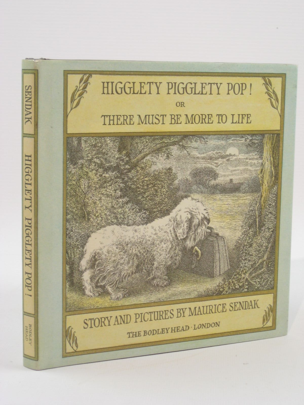 Photo of HIGGLETY PIGGLETY POP! OR THERE MUST BE MORE TO LIFE written by Sendak, Maurice illustrated by Sendak, Maurice published by The Bodley Head (STOCK CODE: 1507594)  for sale by Stella & Rose's Books