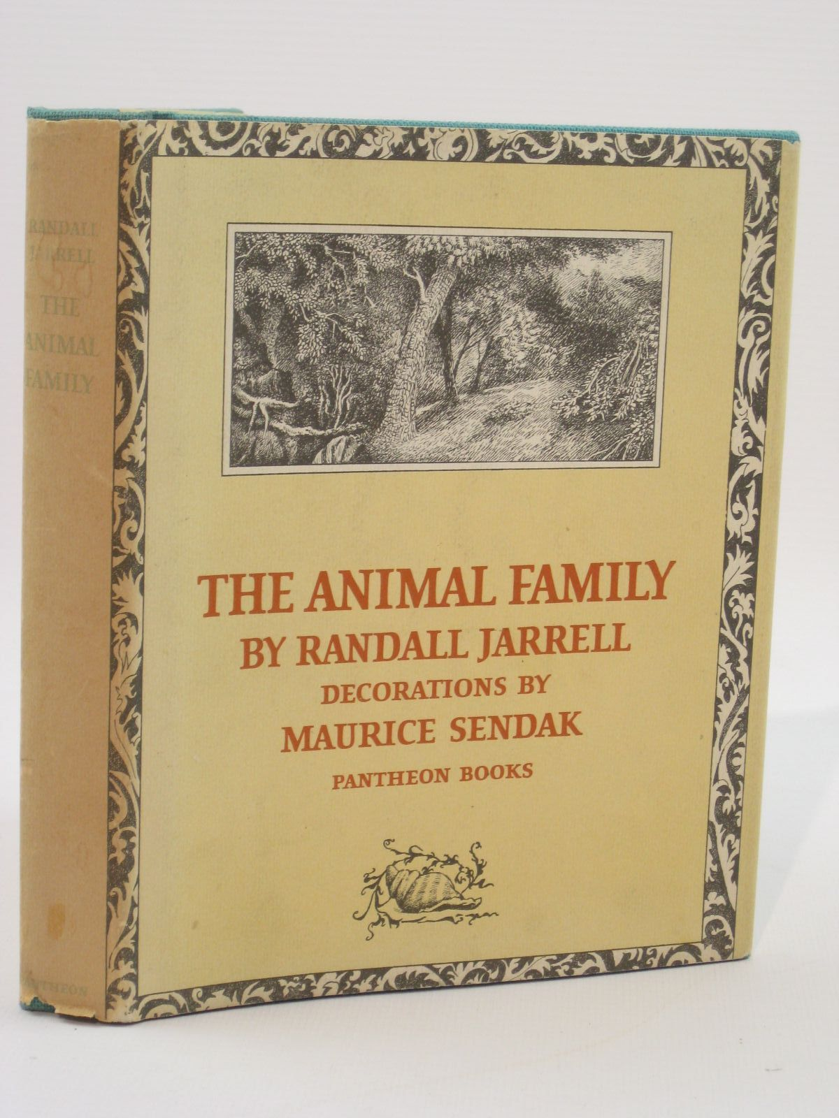 Photo of THE ANIMAL FAMILY written by Jarrell, Randall illustrated by Sendak, Maurice published by Pantheon Books (STOCK CODE: 1507595)  for sale by Stella & Rose's Books