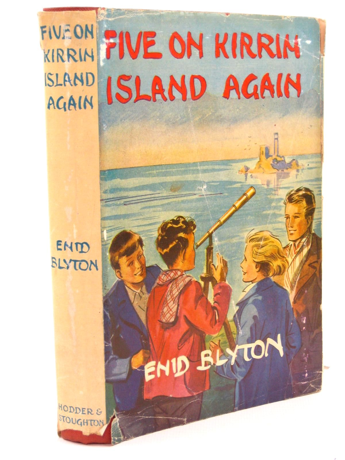 Photo of FIVE ON KIRRIN ISLAND AGAIN written by Blyton, Enid illustrated by Soper, Eileen published by Hodder & Stoughton (STOCK CODE: 1507667)  for sale by Stella & Rose's Books