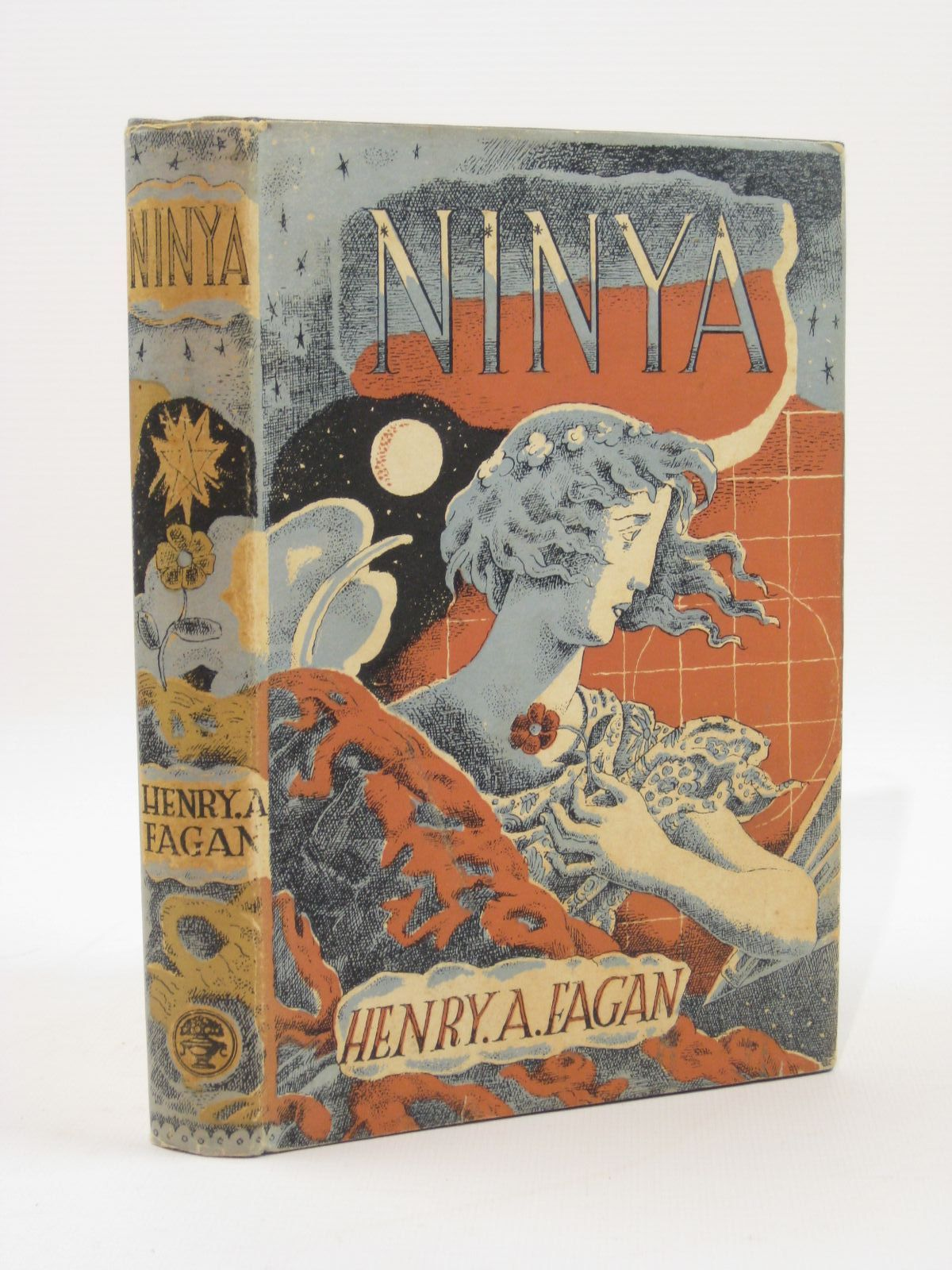Photo of NINYA A FANTASY OF A STRANGE LITTLE WORLD written by Fagan, Henry A. illustrated by Jones, Harold published by Jonathan Cape (STOCK CODE: 1507676)  for sale by Stella & Rose's Books