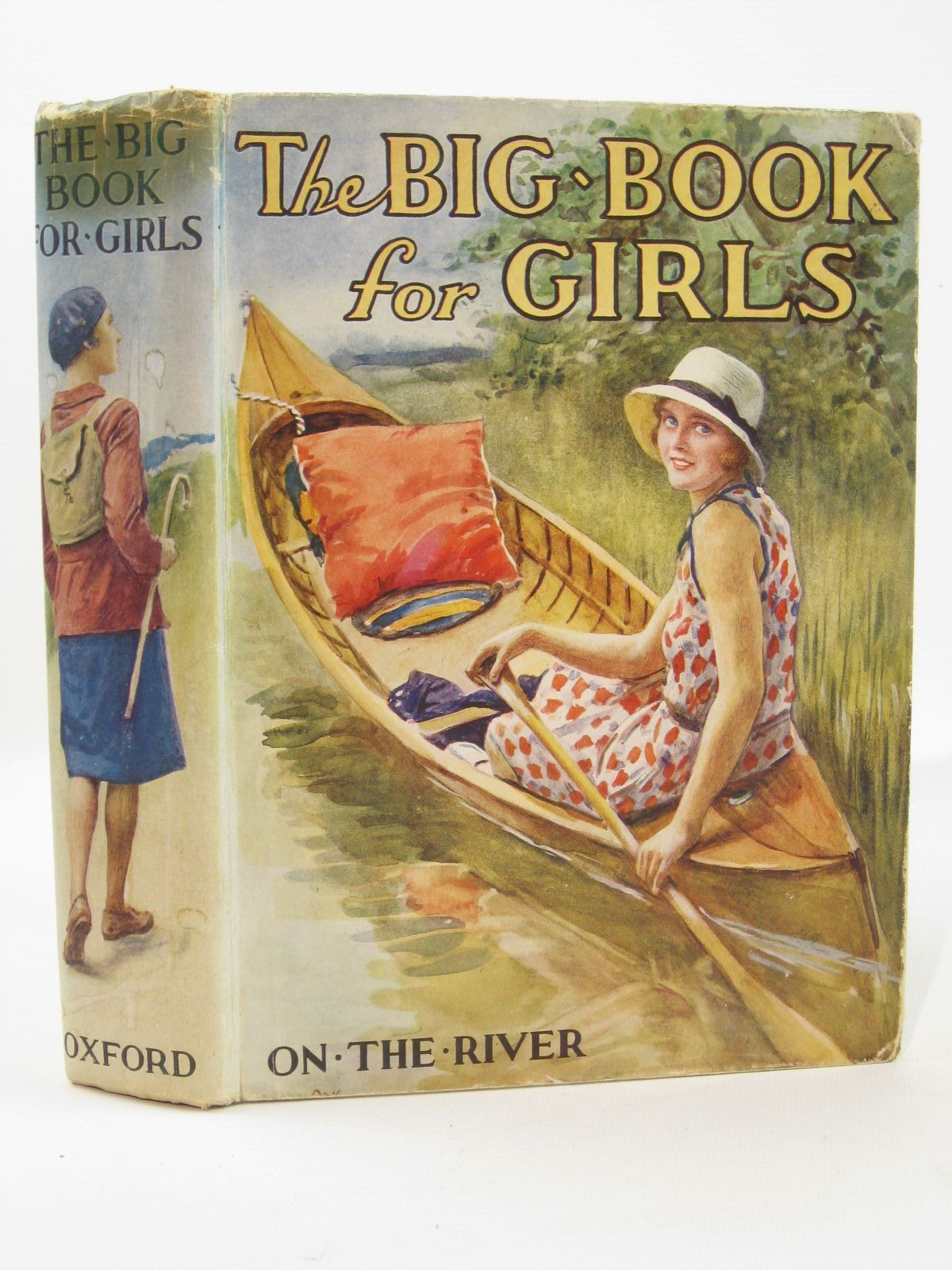 Photo of THE BIG BOOK FOR GIRLS written by Strang, Mrs. Herbert<br />Rutley, C. Bernard<br />Cowper, E.E.<br />Chaundler, Christine<br />et al, illustrated by Reeve, Mary S.<br />Anderson, Anne<br />et al., published by Humphrey Milford, Oxford University Press (STOCK CODE: 1507689)  for sale by Stella & Rose's Books