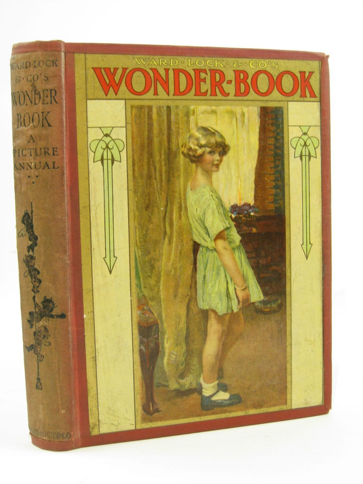 Photo of WARD LOCK &AMP; CO'S WONDER BOOK 1925 written by Golding, Harry<br />Joan, Natalie<br />Rutley, Cecily M.<br />Wynne, May<br />Chaundler, Christine<br />et al, illustrated by Anderson, Anne<br />Brisley, Nina K.<br />Tarrant, Margaret<br />Aris, Ernest A.<br />et al., published by Ward Lock & Co Ltd. (STOCK CODE: 1507715)  for sale by Stella & Rose's Books