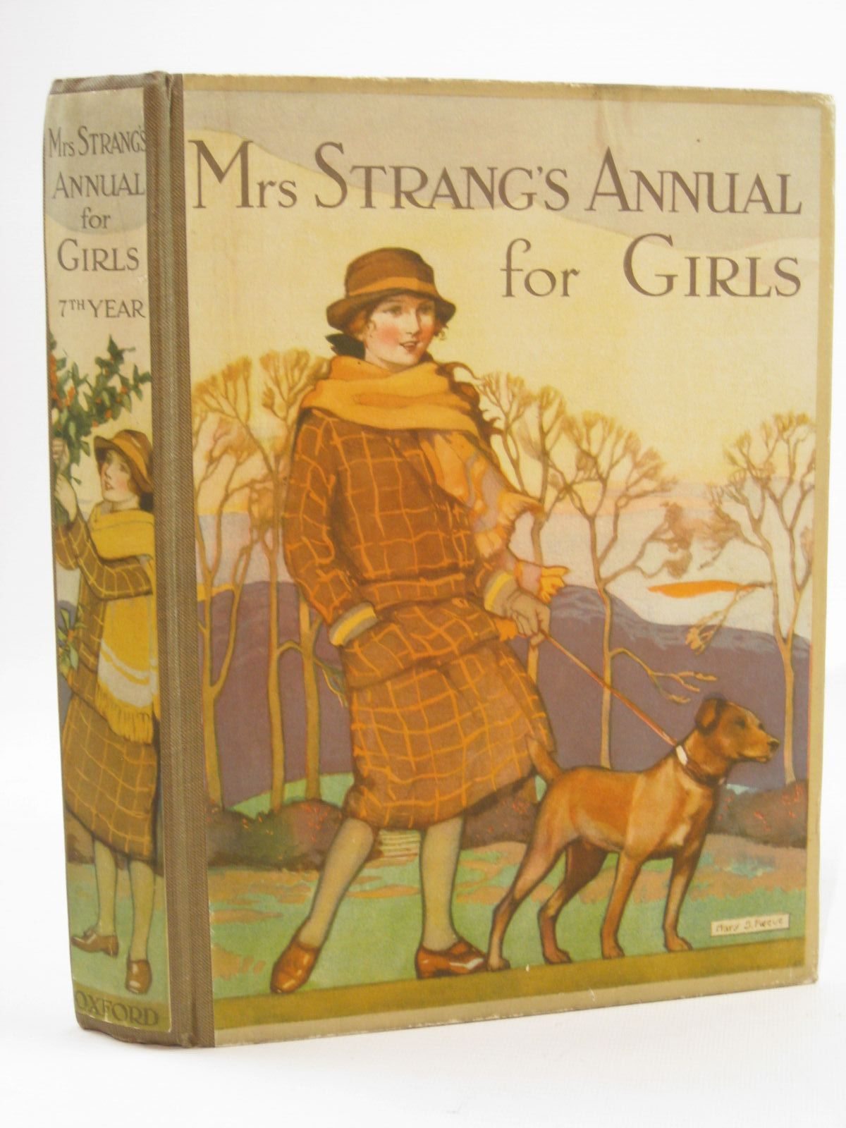 Photo of MRS STRANG'S ANNUAL FOR GIRLS written by Strang, Mrs. Herbert<br />Carruthers, M.I.K.<br />Bruce, Dorita Fairlie<br />Girvin, Brenda<br />Todd, Barbara Euphan<br />et al, illustrated by Harrison, Florence<br />Johnston, M.D.<br />Brock, C.E.<br />et al., published by Oxford University Press, Humphrey Milford (STOCK CODE: 1507724)  for sale by Stella & Rose's Books