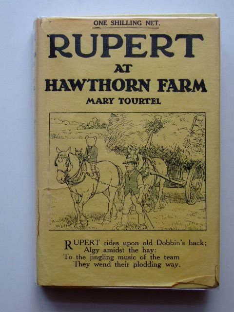 Photo of RUPERT AND ALGY AT HAWTHORN FARM - RUPERT LITTLE BEAR LIBRARY No. 18 written by Tourtel, Mary illustrated by Tourtel, Mary published by Sampson Low, Marston & Co. Ltd. (STOCK CODE: 1601307)  for sale by Stella & Rose's Books