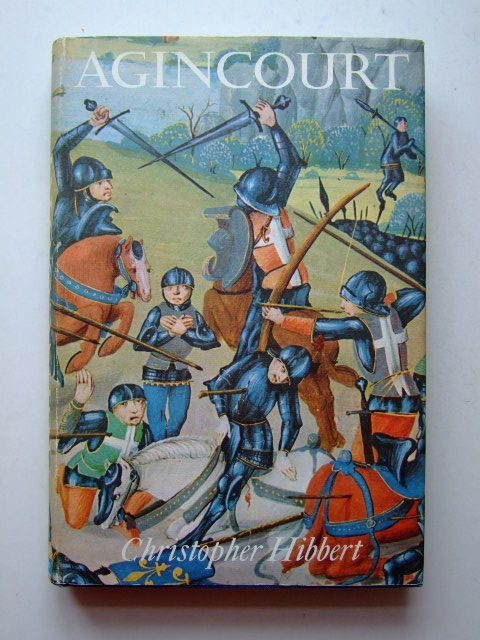 Photo of AGINCOURT written by Hibbert, Christopher published by B.T. Batsford Ltd. (STOCK CODE: 1601422)  for sale by Stella & Rose's Books