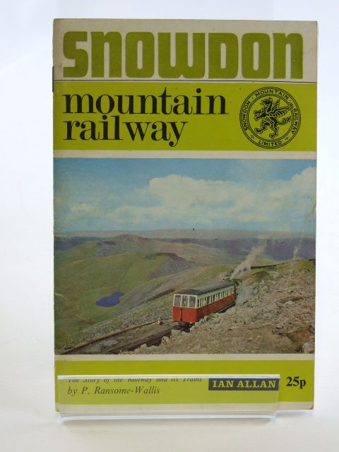Photo of SNOWDON MOUNTAIN RAILWAY written by Ransome-Wallis, P. published by Ian Allan (STOCK CODE: 1602506)  for sale by Stella & Rose's Books