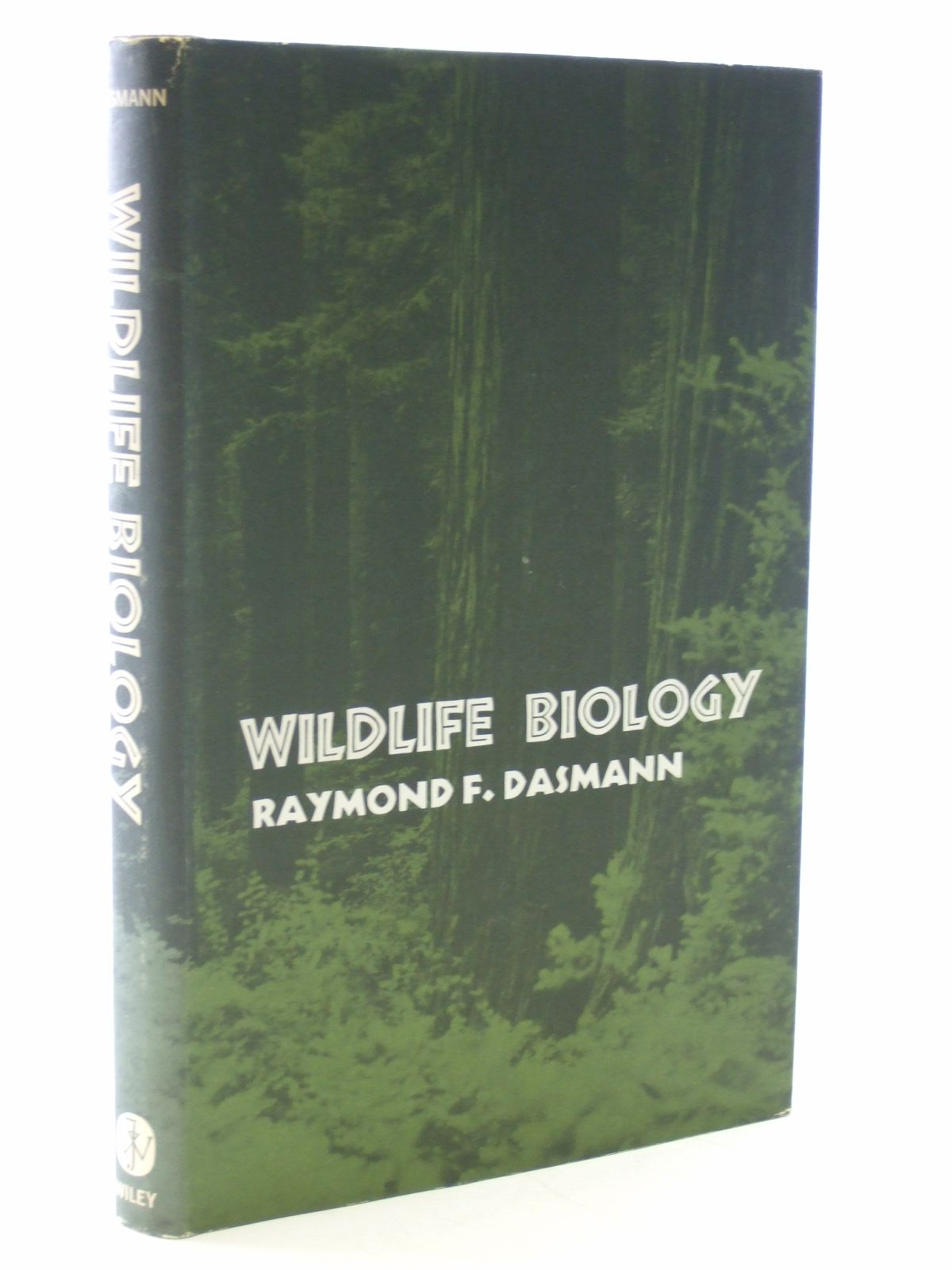 Photo of WILDLIFE BIOLOGY written by Dasmann, Raymond F. published by John Wiley & Sons (STOCK CODE: 1602935)  for sale by Stella & Rose's Books