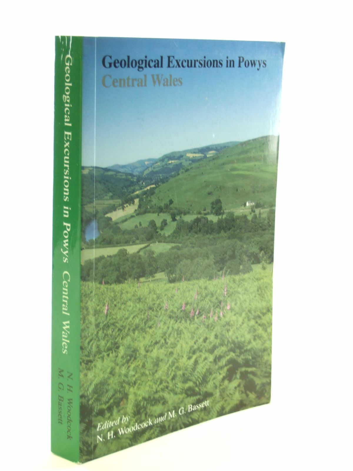 Photo of GEOLOGICAL EXCURSIONS IN POWYS CENTRAL WALES written by Woodcock, N.H.<br />Bassett, Michael G. published by University of Wales (STOCK CODE: 1603008)  for sale by Stella & Rose's Books