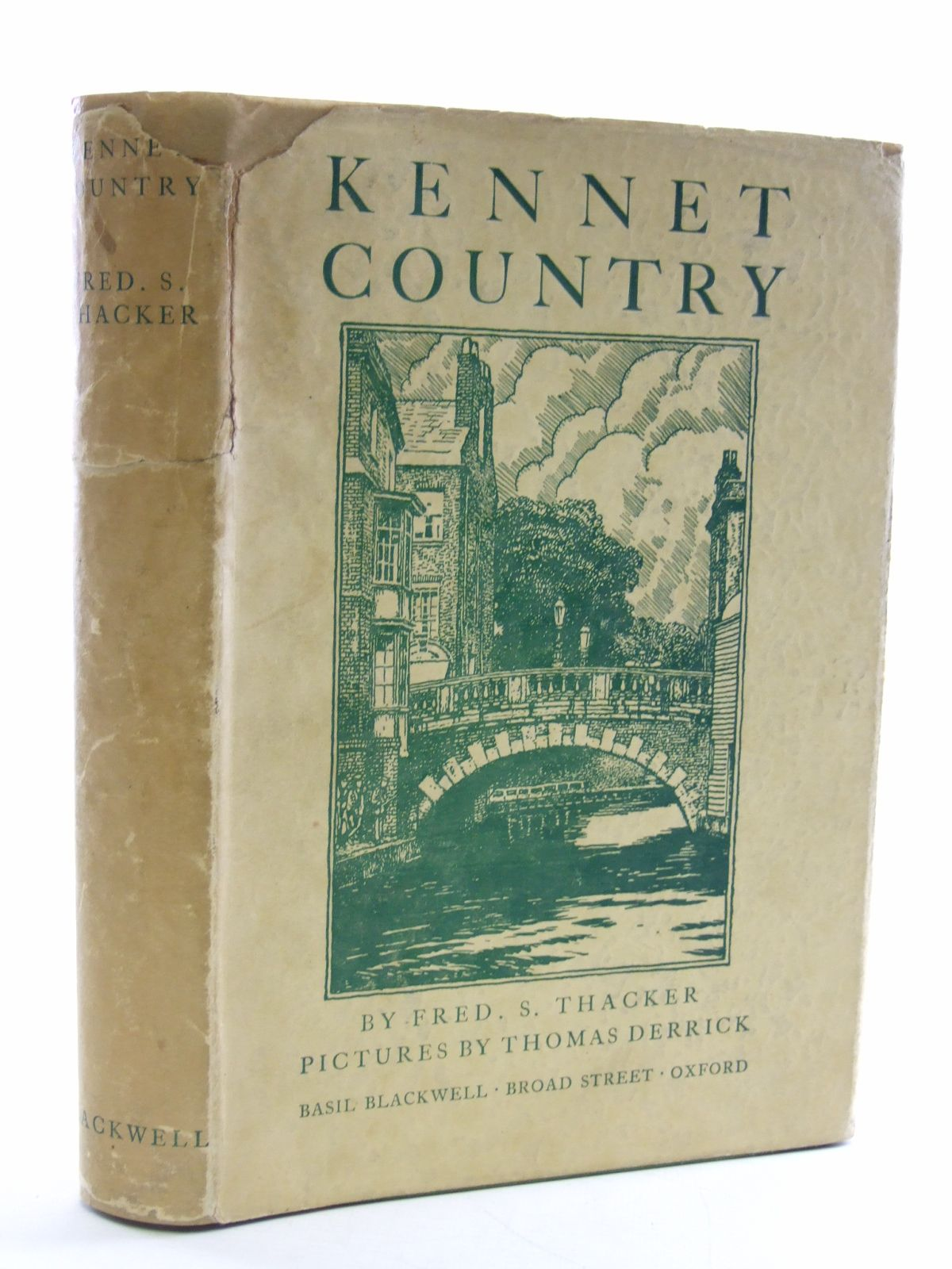 Photo of KENNET COUNTRY written by Thacker, Fred S. published by Basil Blackwell (STOCK CODE: 1603017)  for sale by Stella & Rose's Books