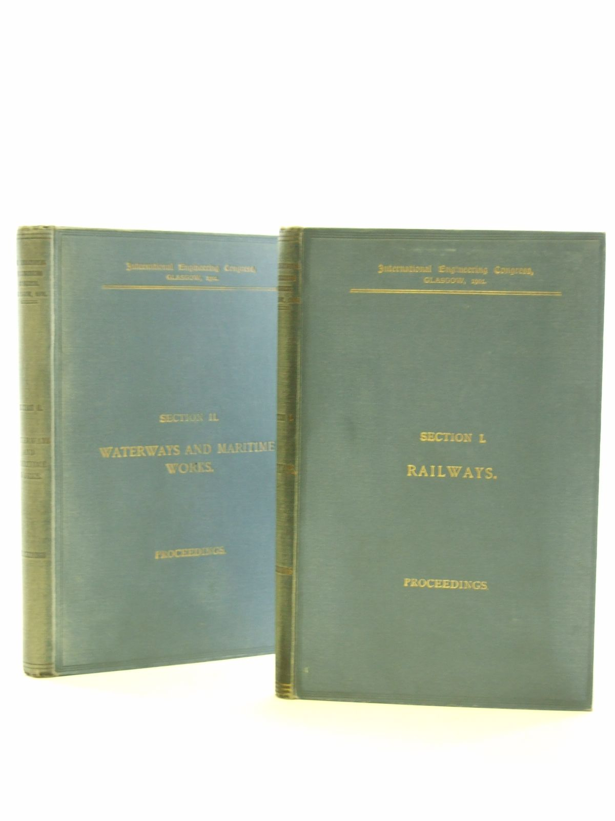 Photo of PROCEEDINGS OF THE INTERNATIONAL ENGINEERING CONGRESS, GLASGOW 1901 SECTION I & II published by William Clowes & Sons Ltd. (STOCK CODE: 1603092)  for sale by Stella & Rose's Books