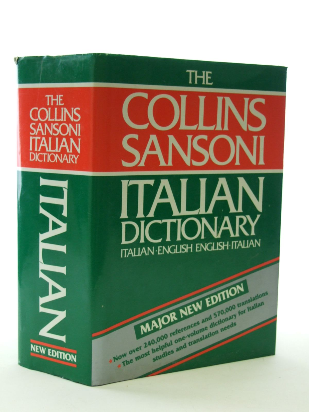 THE COLLINS SANSONI ITALIAN DICTIONARY, STOCK CODE: 1603219 : Stella