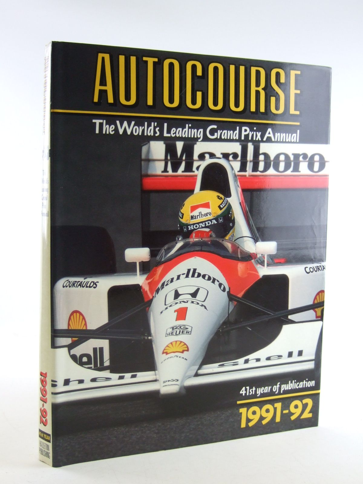 Photo of AUTOCOURSE 1991-1992 written by Henry, Alan published by Hazleton Publishing (STOCK CODE: 1603980)  for sale by Stella & Rose's Books