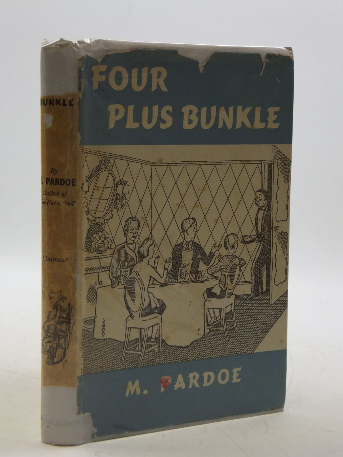 Photo of FOUR PLUS BUNKLE written by Pardoe, M. illustrated by Evans, J.D. published by George Routledge & Sons Ltd. (STOCK CODE: 1604617)  for sale by Stella & Rose's Books