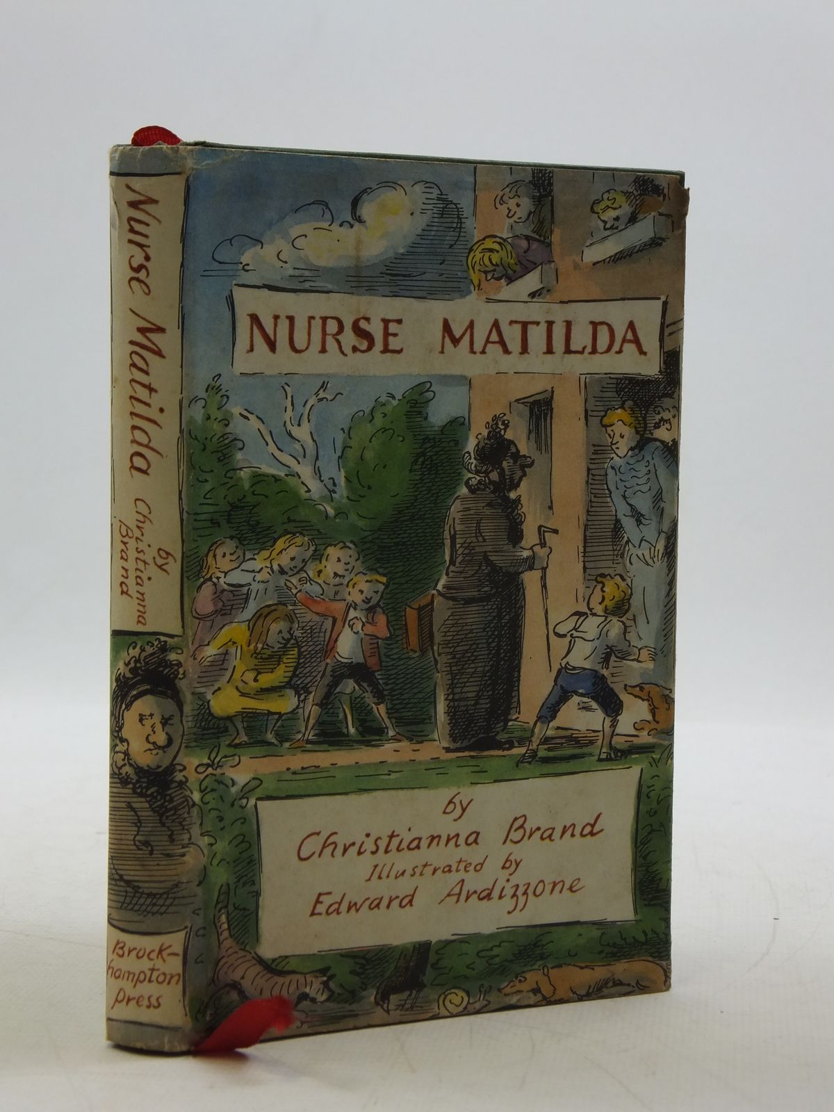 Photo of NURSE MATILDA written by Brand, Christianna illustrated by Ardizzone, Edward published by Brockhampton Press (STOCK CODE: 1604621)  for sale by Stella & Rose's Books