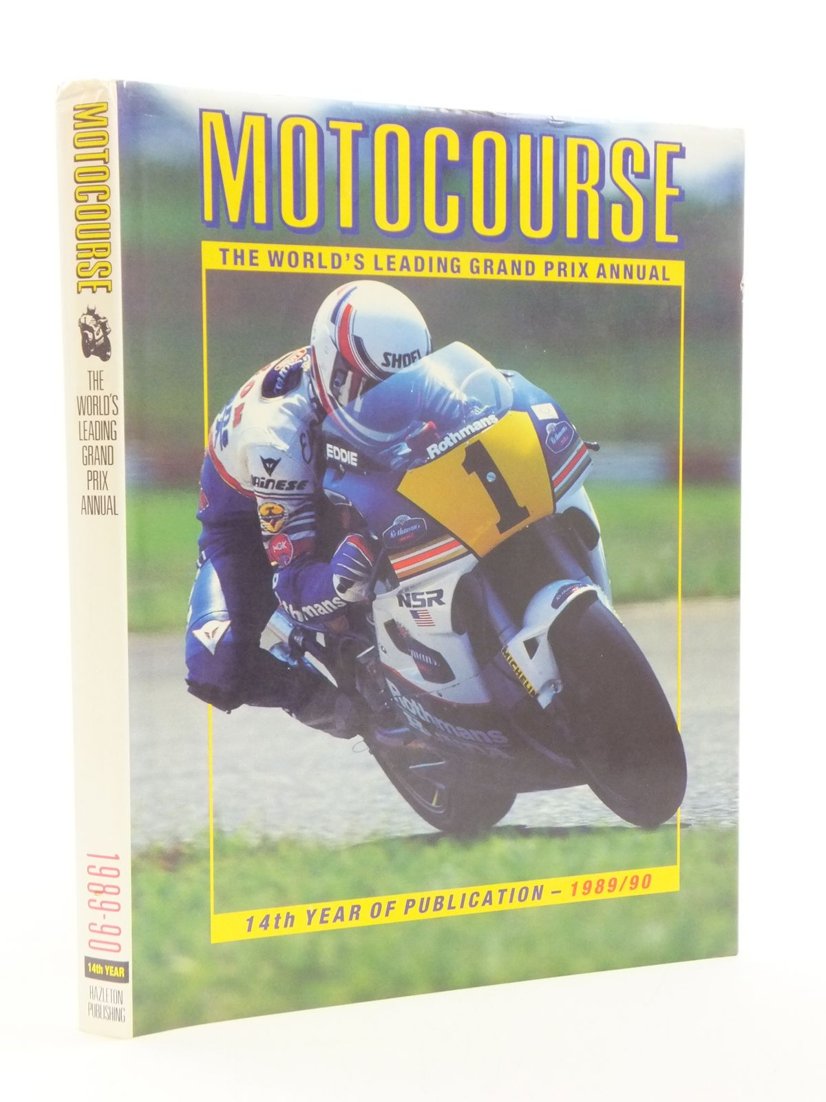 Photo of MOTOCOURSE 1989-90 written by Clifford, Peter published by Hazleton Publishing (STOCK CODE: 1604634)  for sale by Stella & Rose's Books