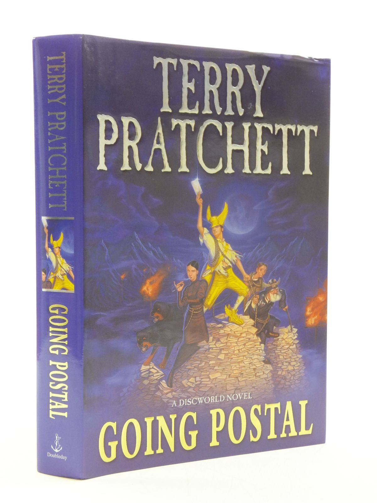 Photo of GOING POSTAL written by Pratchett, Terry published by Doubleday (STOCK CODE: 1604638)  for sale by Stella & Rose's Books