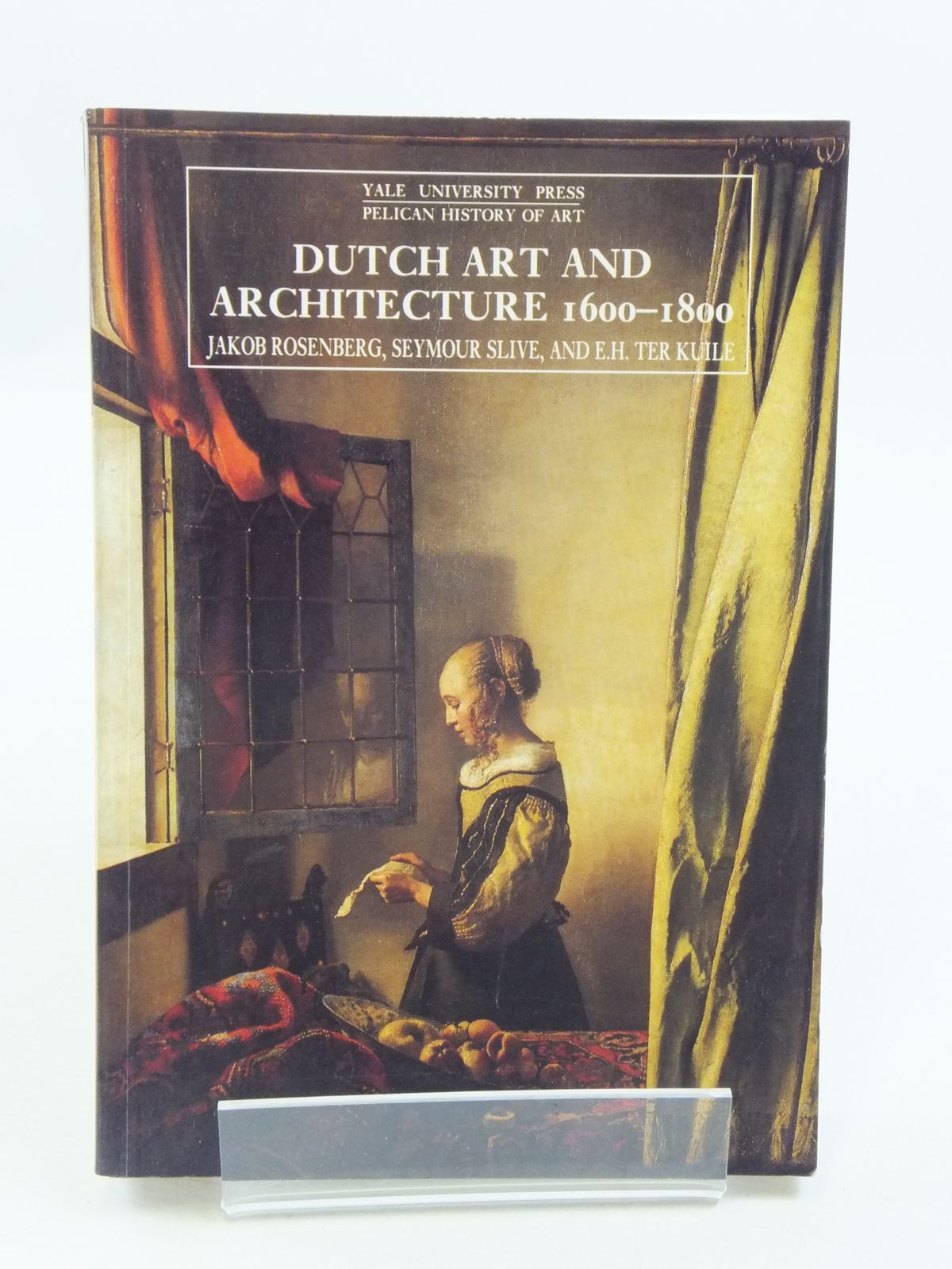 Photo of DUTCH ART AND ARCHITECTURE 1600-1800 written by Rosenberg, Jakob<br />Slive, Seymour<br />Ter Kuile, E.H. published by Yale University Press (STOCK CODE: 1604764)  for sale by Stella & Rose's Books