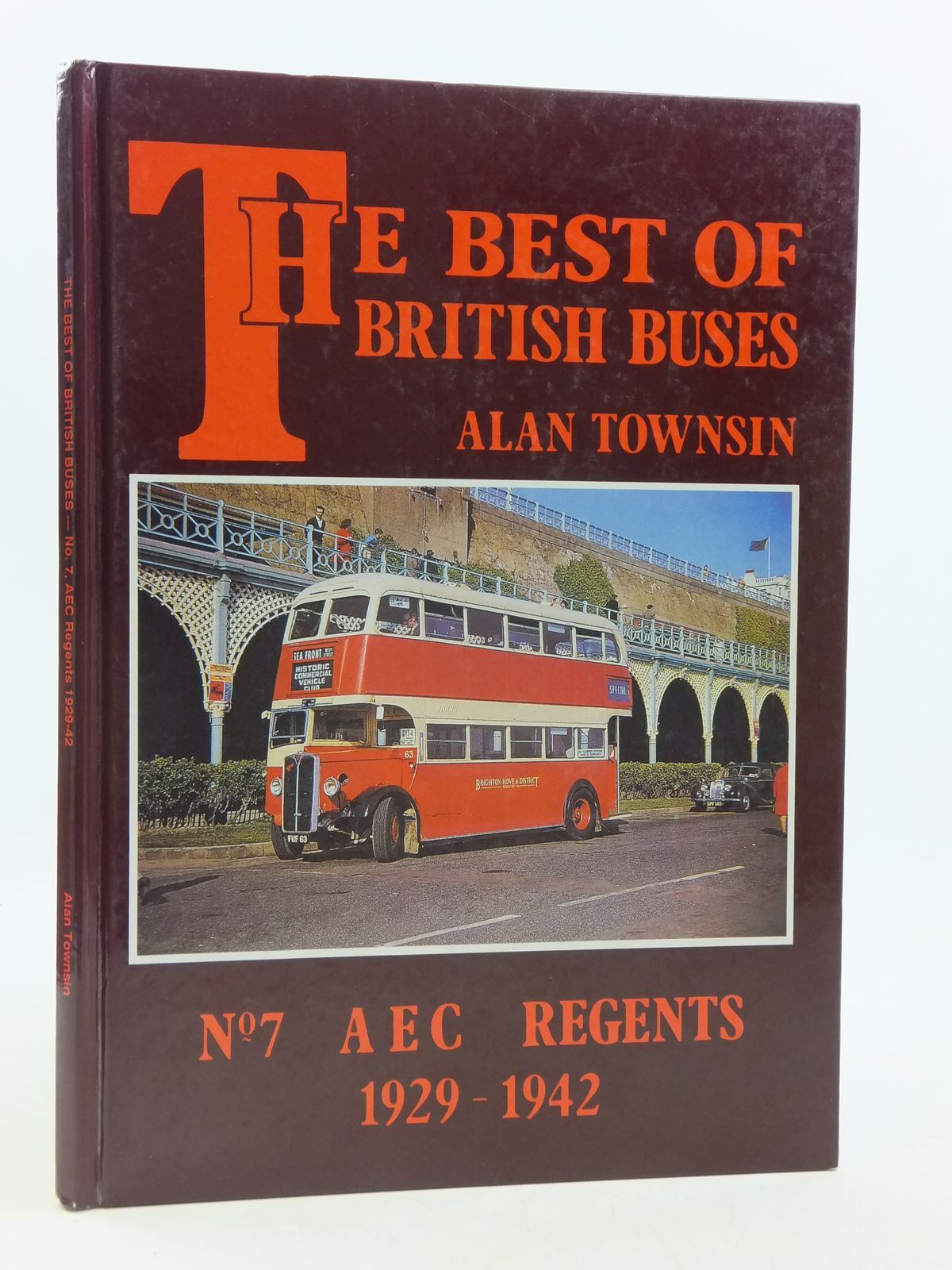 Photo of THE BEST OF BRITISH BUSES No.7 AEC REGENTS 1929-1942 written by Townsin, Alan published by Book Law Publications (STOCK CODE: 1604917)  for sale by Stella & Rose's Books