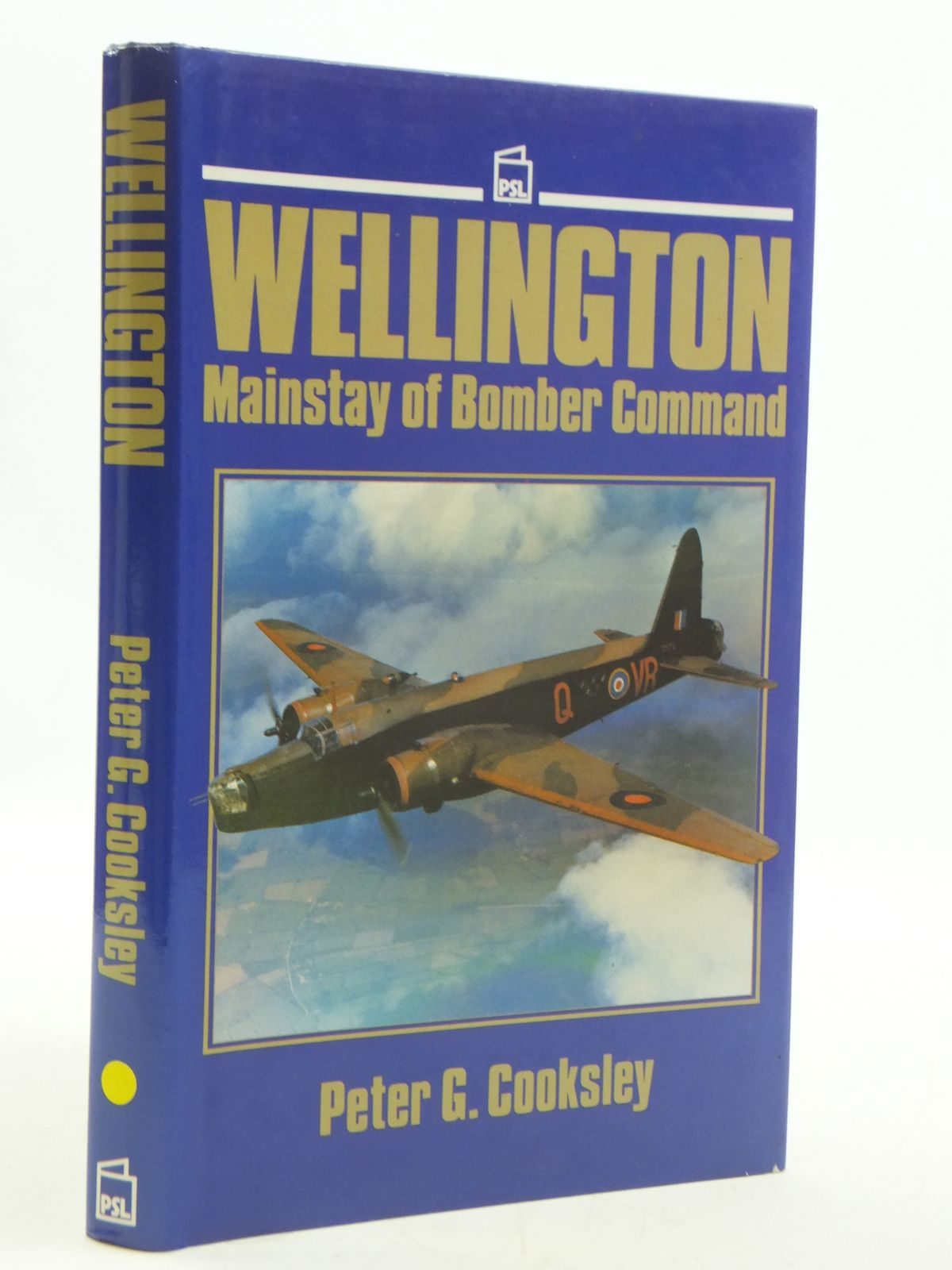 Photo of WELLINGTON: MAINSTAY OF BOMBER COMMAND written by Cooksley, Peter G. published by Patrick Stephens (STOCK CODE: 1604988)  for sale by Stella & Rose's Books