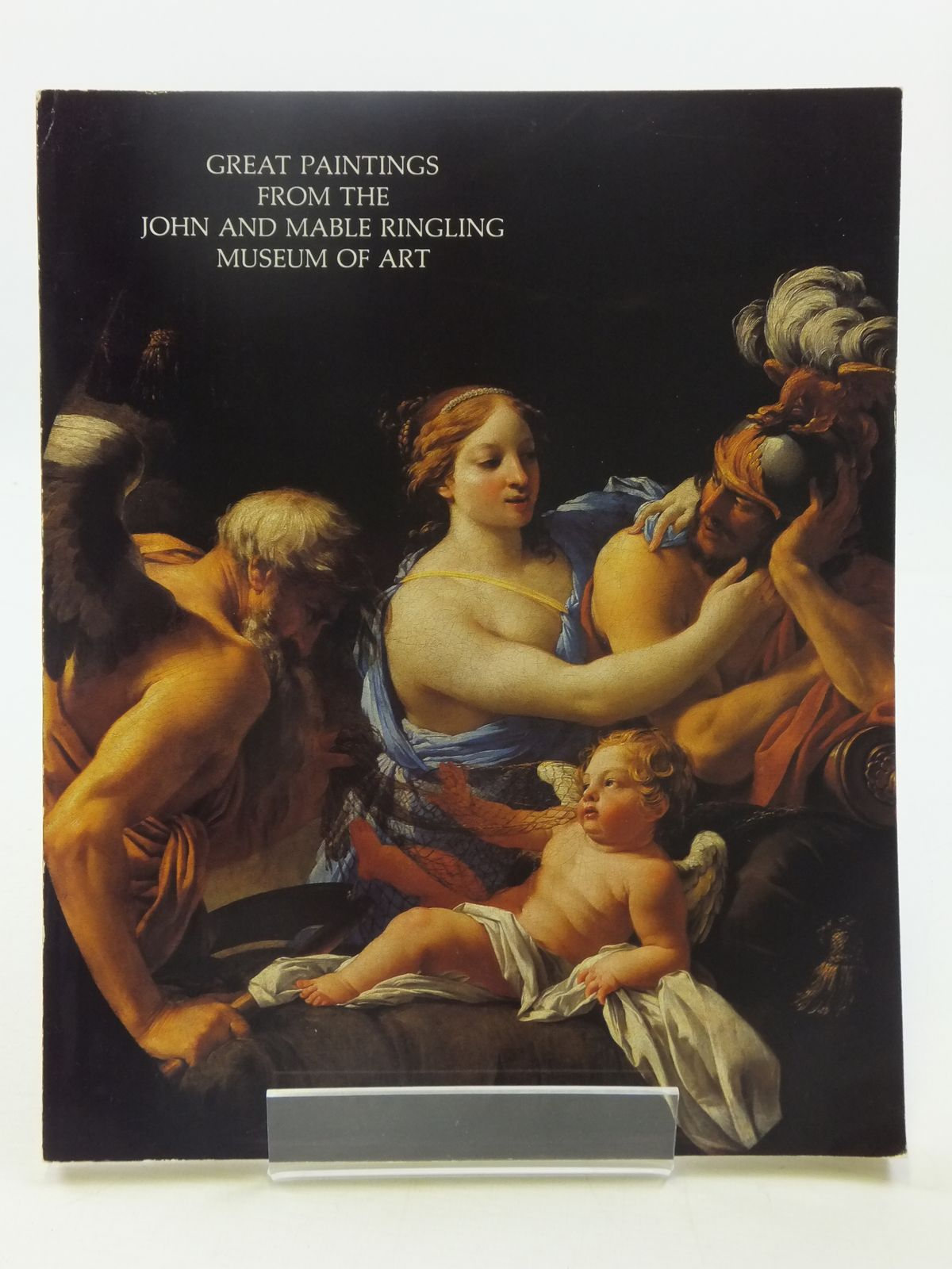 Photo of GREAT PAINTINGS FROM THE JOHN AND MABLE RINGLING MUSEUM OF ART written by Janson, Anthony F. published by The John And Mable Ringling Museum Of Art (STOCK CODE: 1605235)  for sale by Stella & Rose's Books