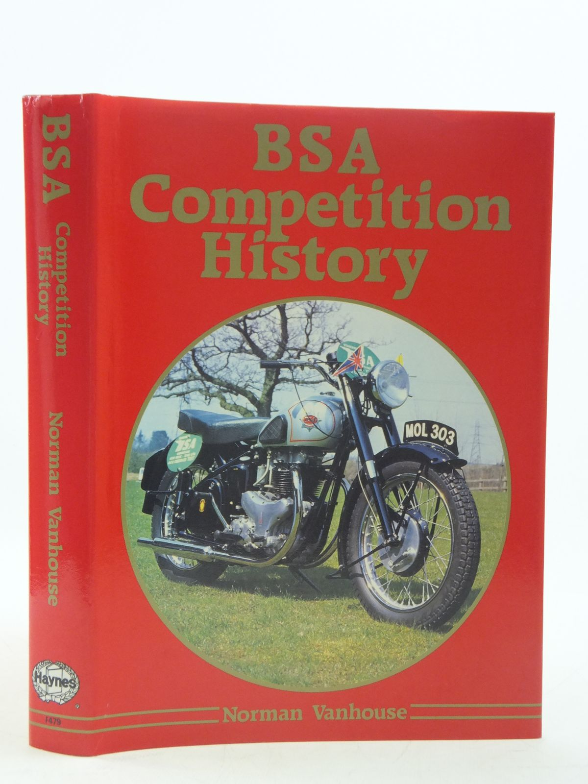 Photo of BSA COMPETITION HISTORY