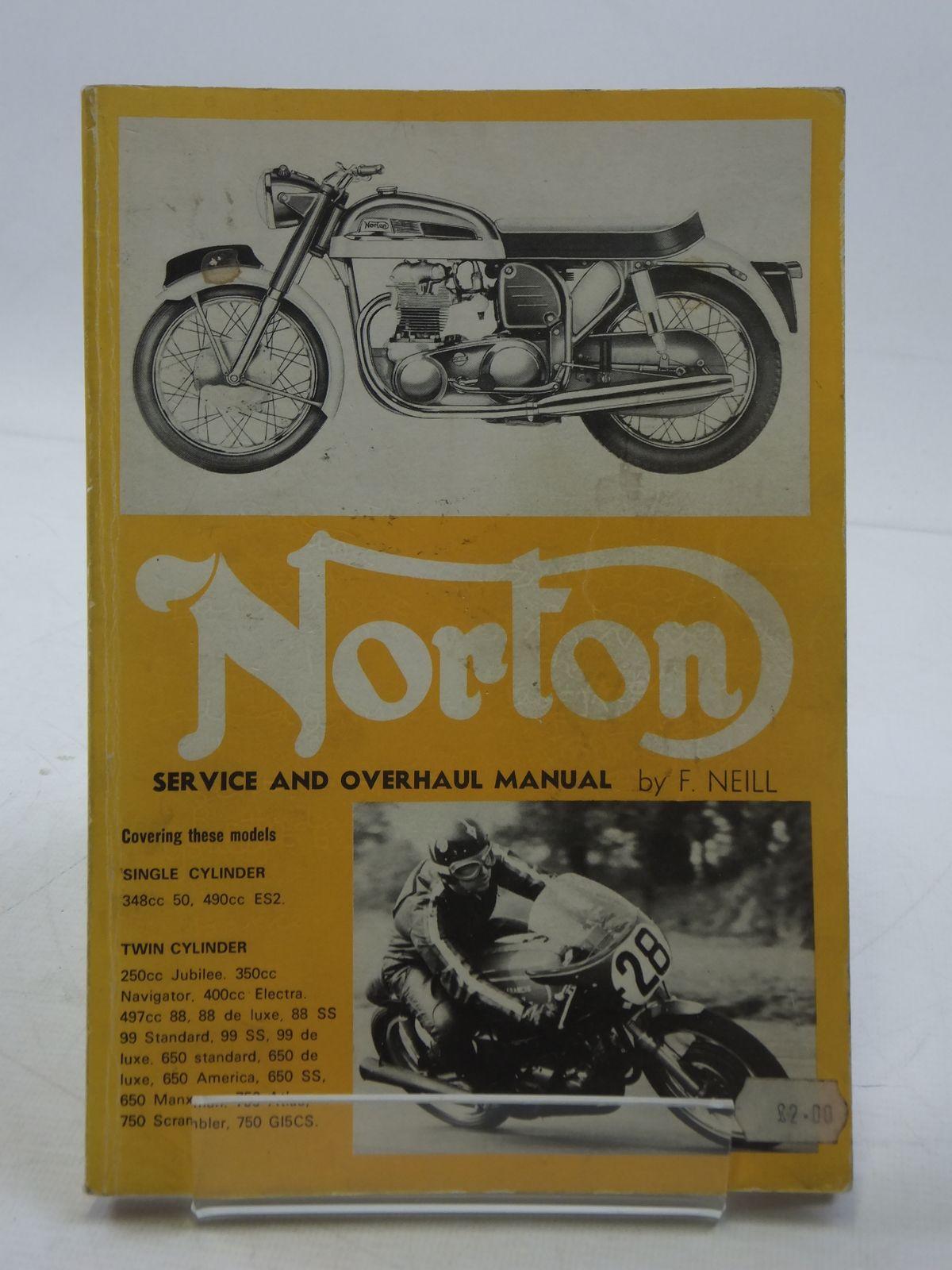 Photo of NORTON SERVICE & OVERHAUL MANUAL