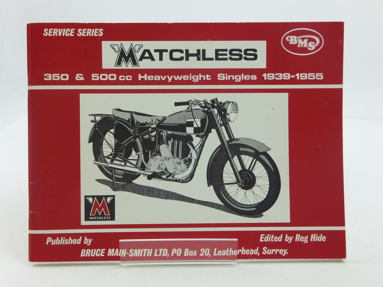 Photo of MATCHLESS 350 & 500 CC HEAVYWEIGHT SINGLES 1939-1955