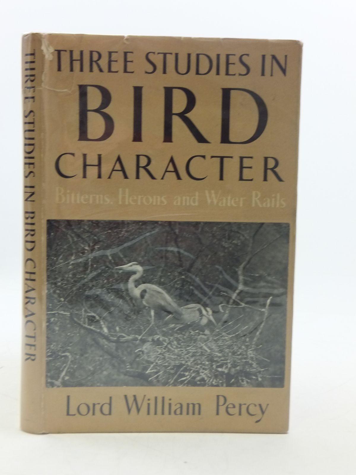 Photo of THREE STUDIES IN BIRD CHARACTER