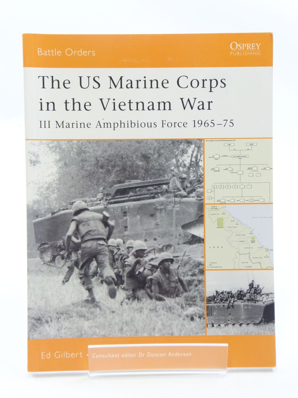 Photo of THE US MARINE CORPS IN THE VIETNAM WAR written by Gilbert, Ed published by Osprey Publishing (STOCK CODE: 1605377)  for sale by Stella & Rose's Books