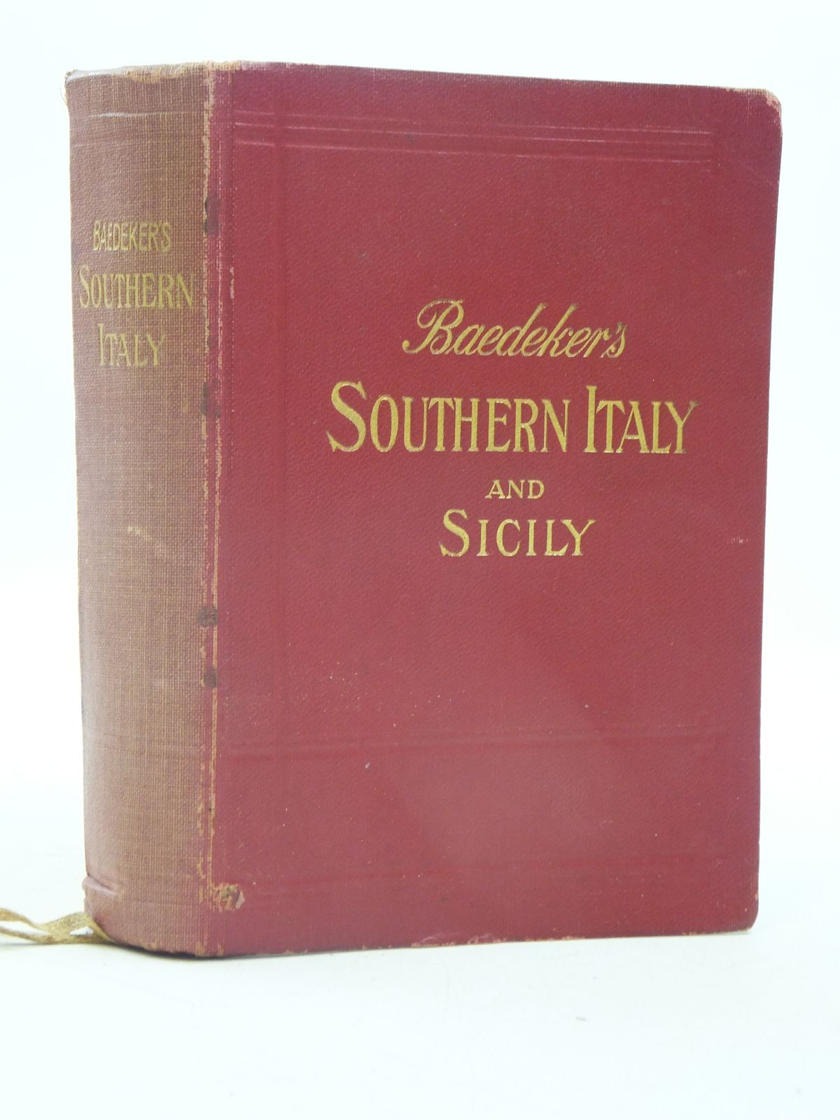 Photo of SOUTHERN ITALY AND SICILY written by Baedeker, Karl published by Karl Baedeker (STOCK CODE: 1605473)  for sale by Stella & Rose's Books