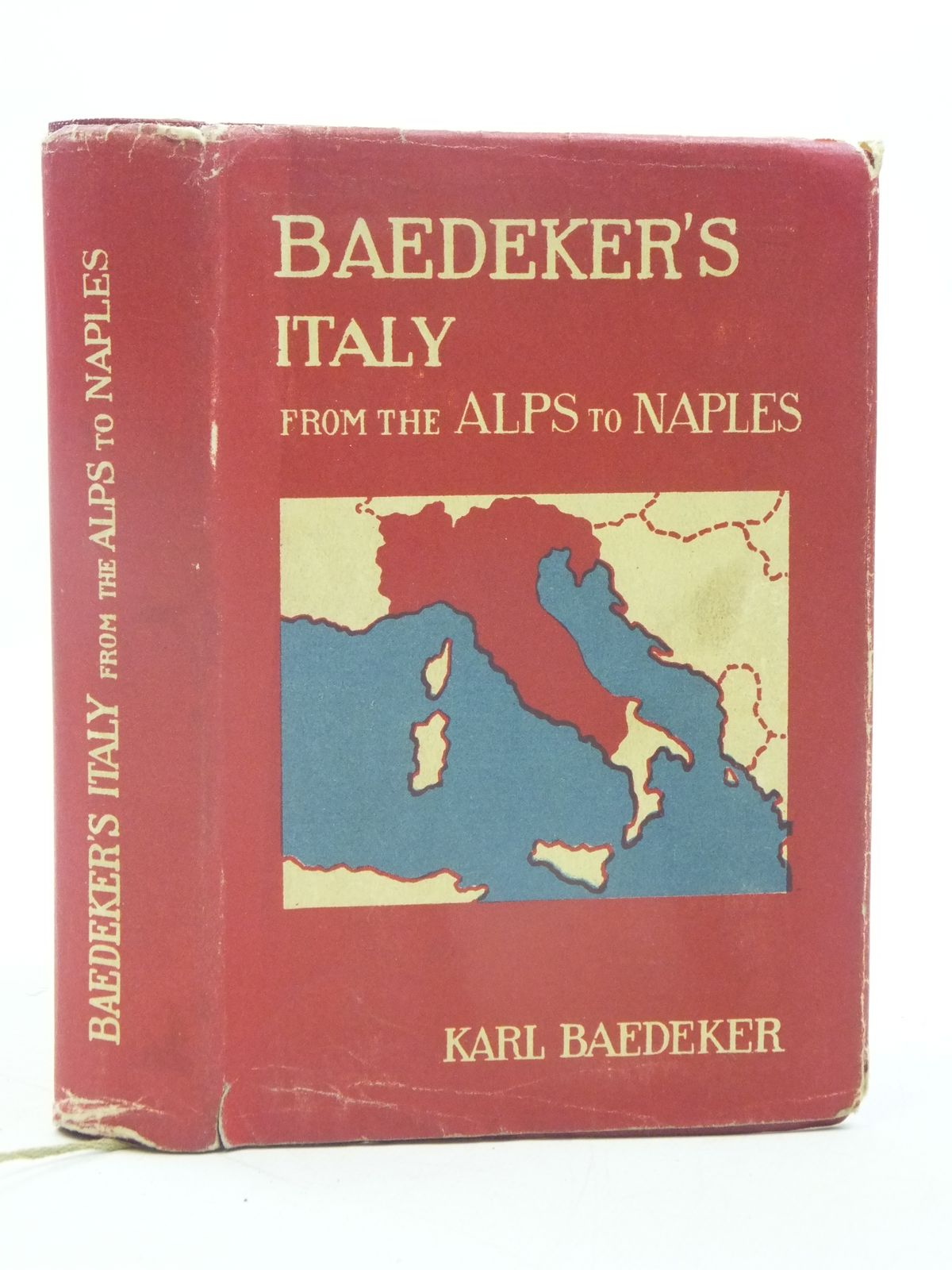 Photo of ITALY FROM THE ALPS TO NAPLES written by Baedeker, Karl published by Karl Baedeker (STOCK CODE: 1605483)  for sale by Stella & Rose's Books
