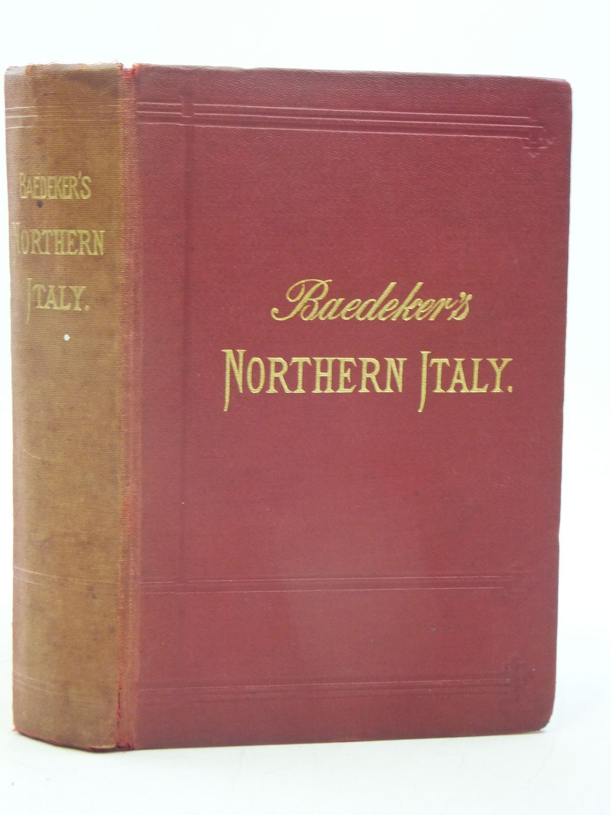 Photo of ITALY FIRST PART NORTHERN ITALY written by Baedeker, Karl published by Karl Baedeker (STOCK CODE: 1605485)  for sale by Stella & Rose's Books
