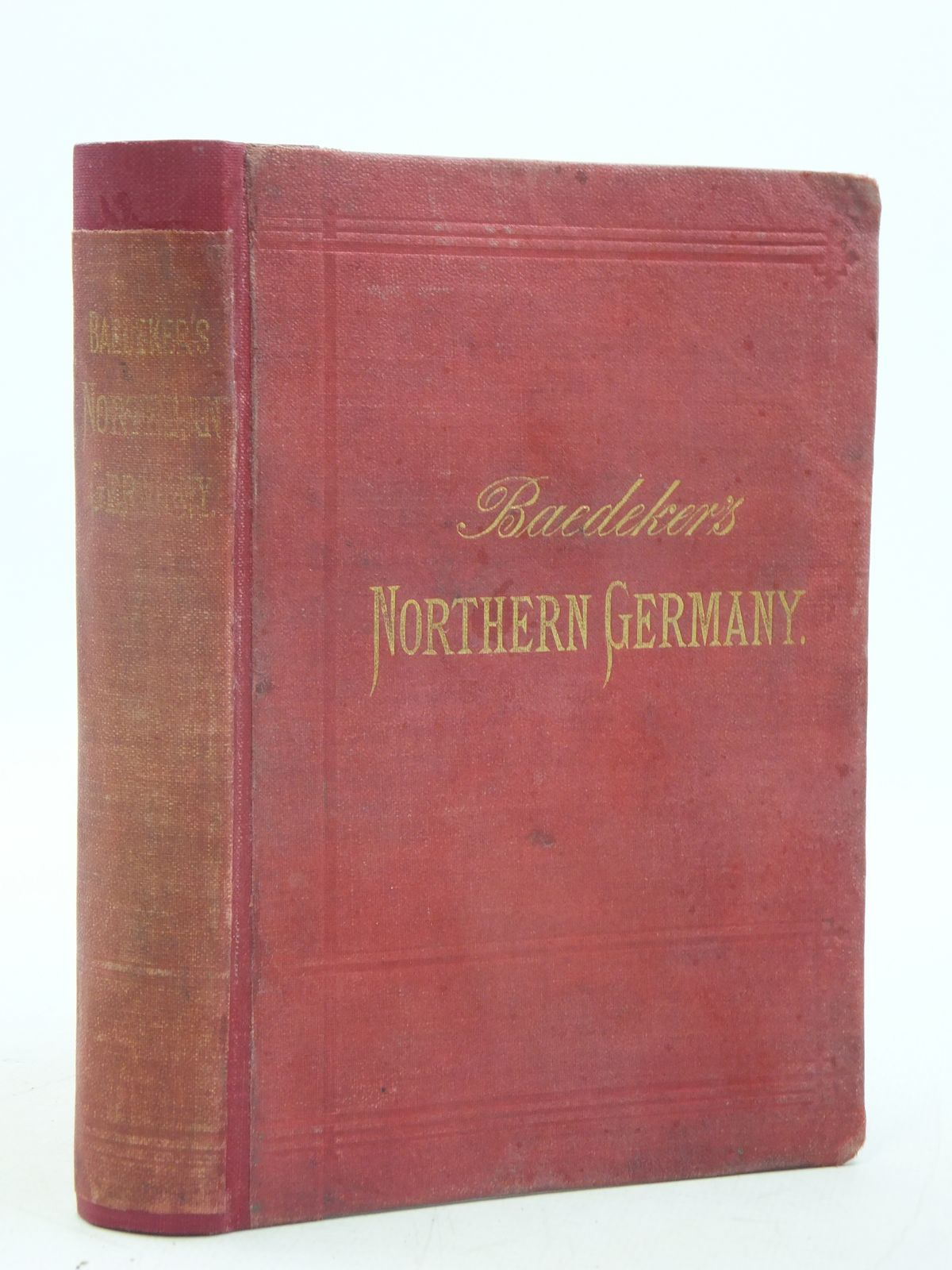 Photo of NORTHERN GERMANY written by Baedeker, Karl published by Karl Baedeker (STOCK CODE: 1605487)  for sale by Stella & Rose's Books