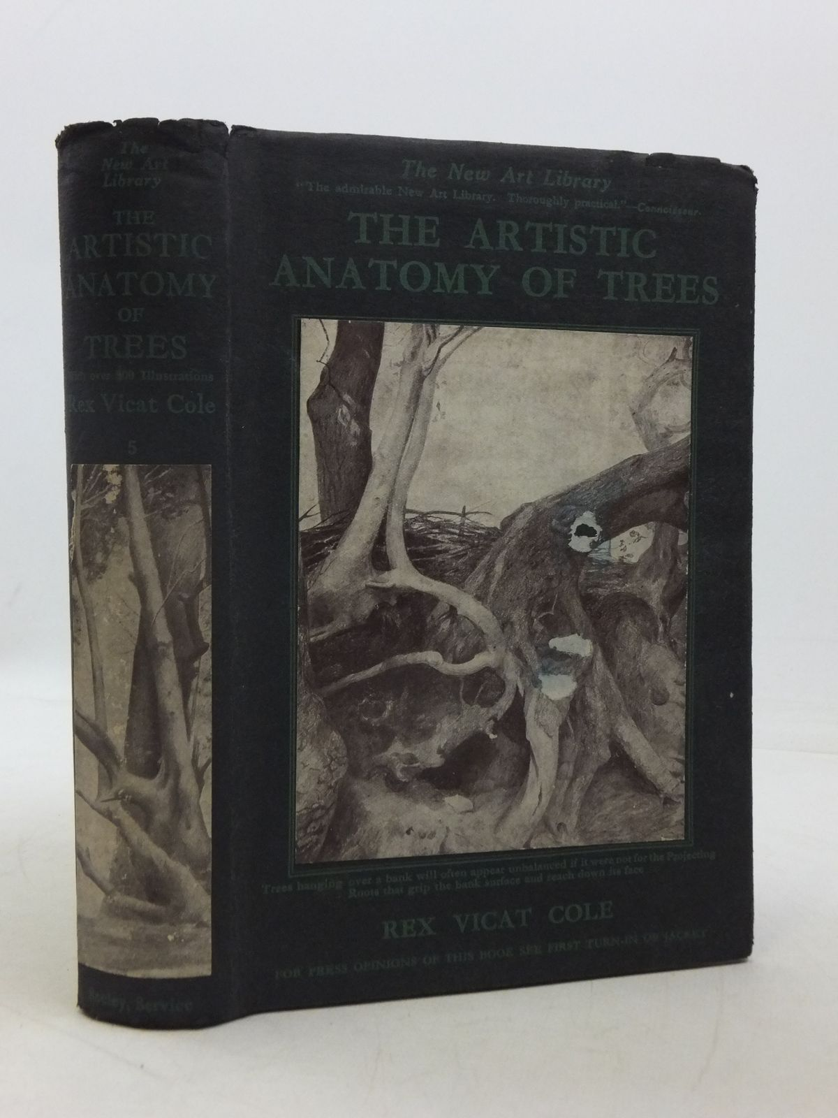 Photo of THE ARTISTIC ANATOMY OF TREES written by Cole, Rex Vicat published by Seeley, Service & Co. Ltd. (STOCK CODE: 1605505)  for sale by Stella & Rose's Books