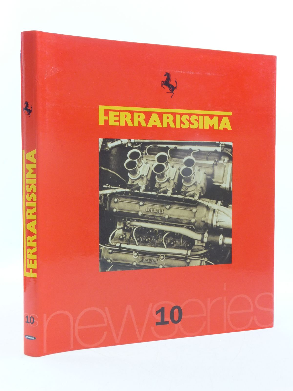 Photo of FERRARISSIMA 10 written by Alfieri, Bruno published by Automobilia (STOCK CODE: 1605620)  for sale by Stella & Rose's Books