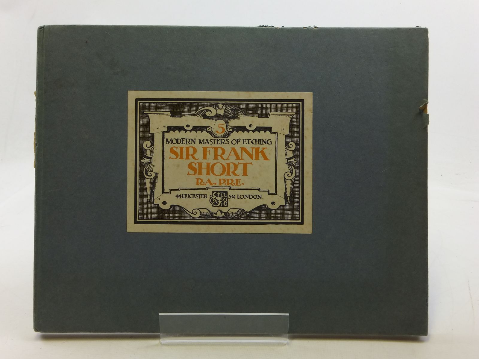 Photo of MODERN MASTERS OF ETCHING NUMBER FIVE SIR FRANK SHORT written by Salaman, Malcolm C. illustrated by Short, Frank published by The Studio (STOCK CODE: 1605659)  for sale by Stella & Rose's Books