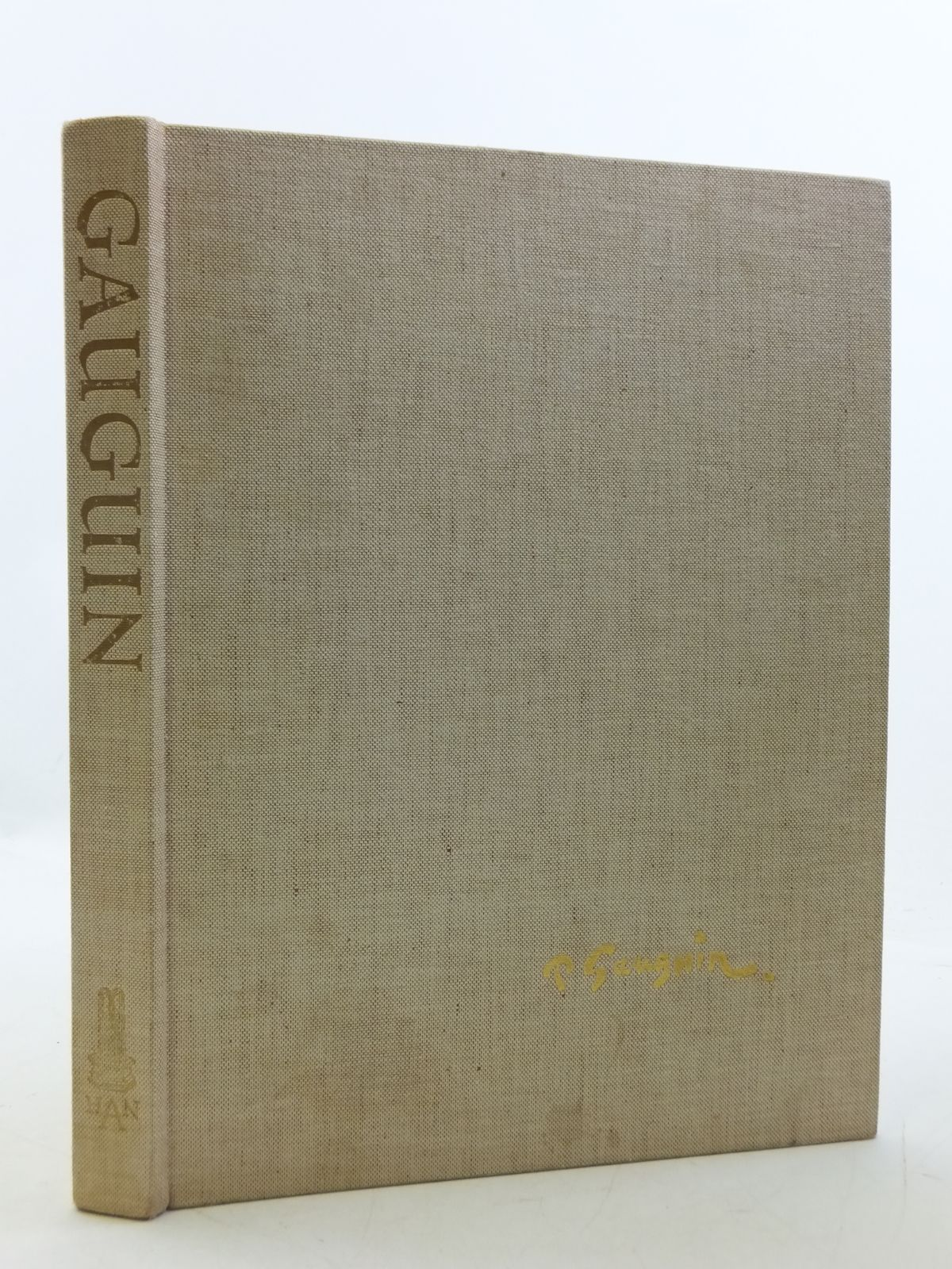 Photo of PAUL GAUGUIN written by Goldwater, Robert published by The Library Of Great Painters (STOCK CODE: 1605663)  for sale by Stella & Rose's Books