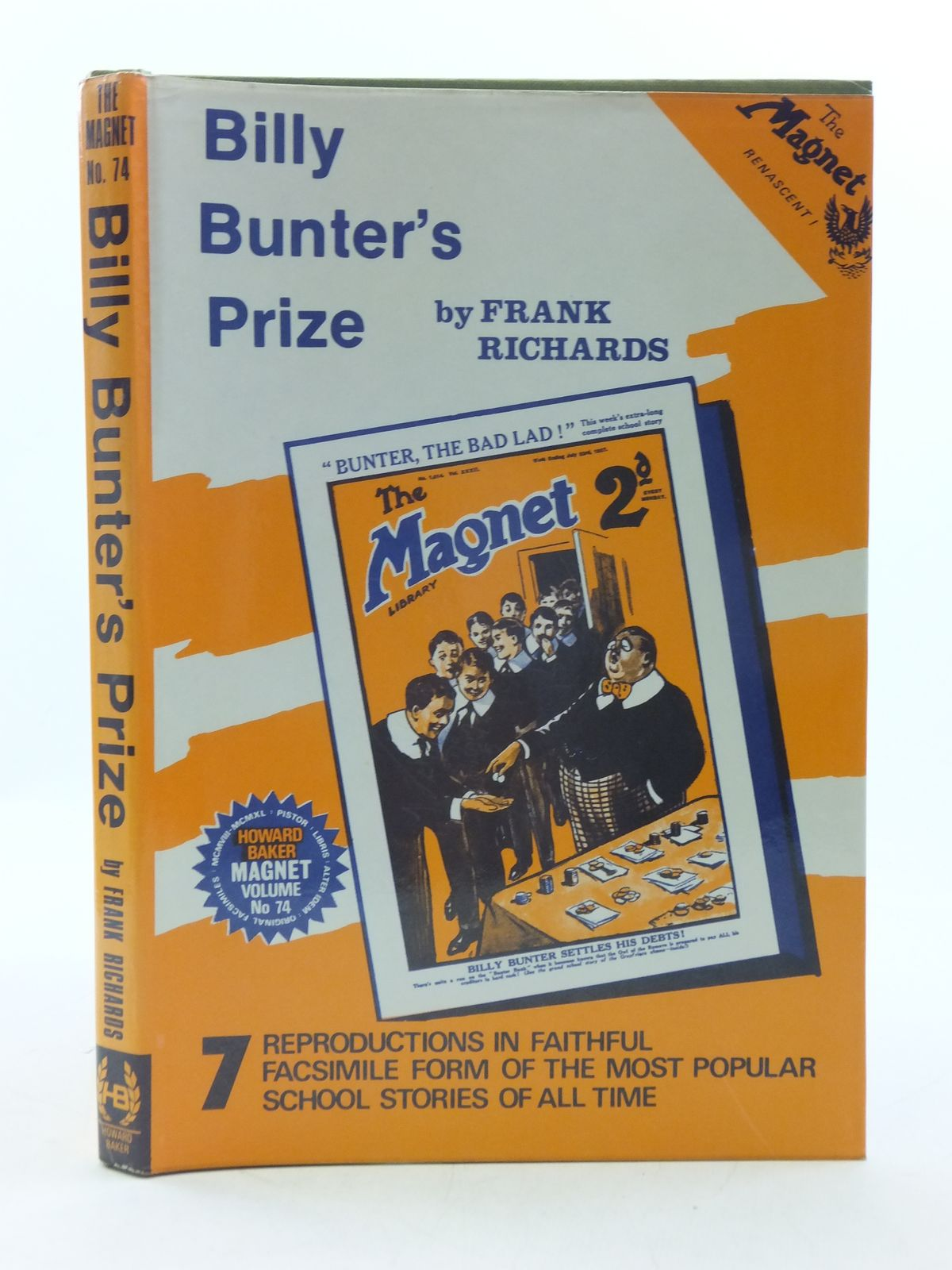 Photo of BILLY BUNTER'S PRIZE