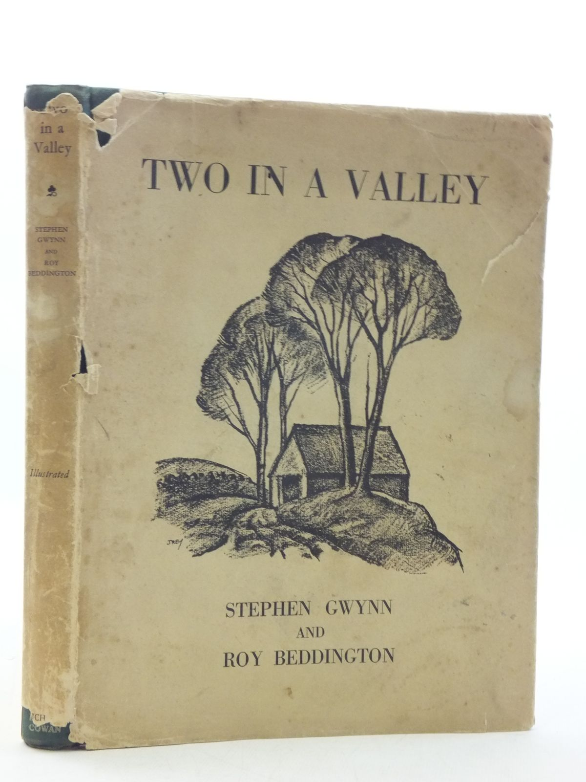 Photo of TWO IN A VALLEY written by Gwynn, Stephen illustrated by Beddington, R. published by Rich and Cowan (STOCK CODE: 1605745)  for sale by Stella & Rose's Books