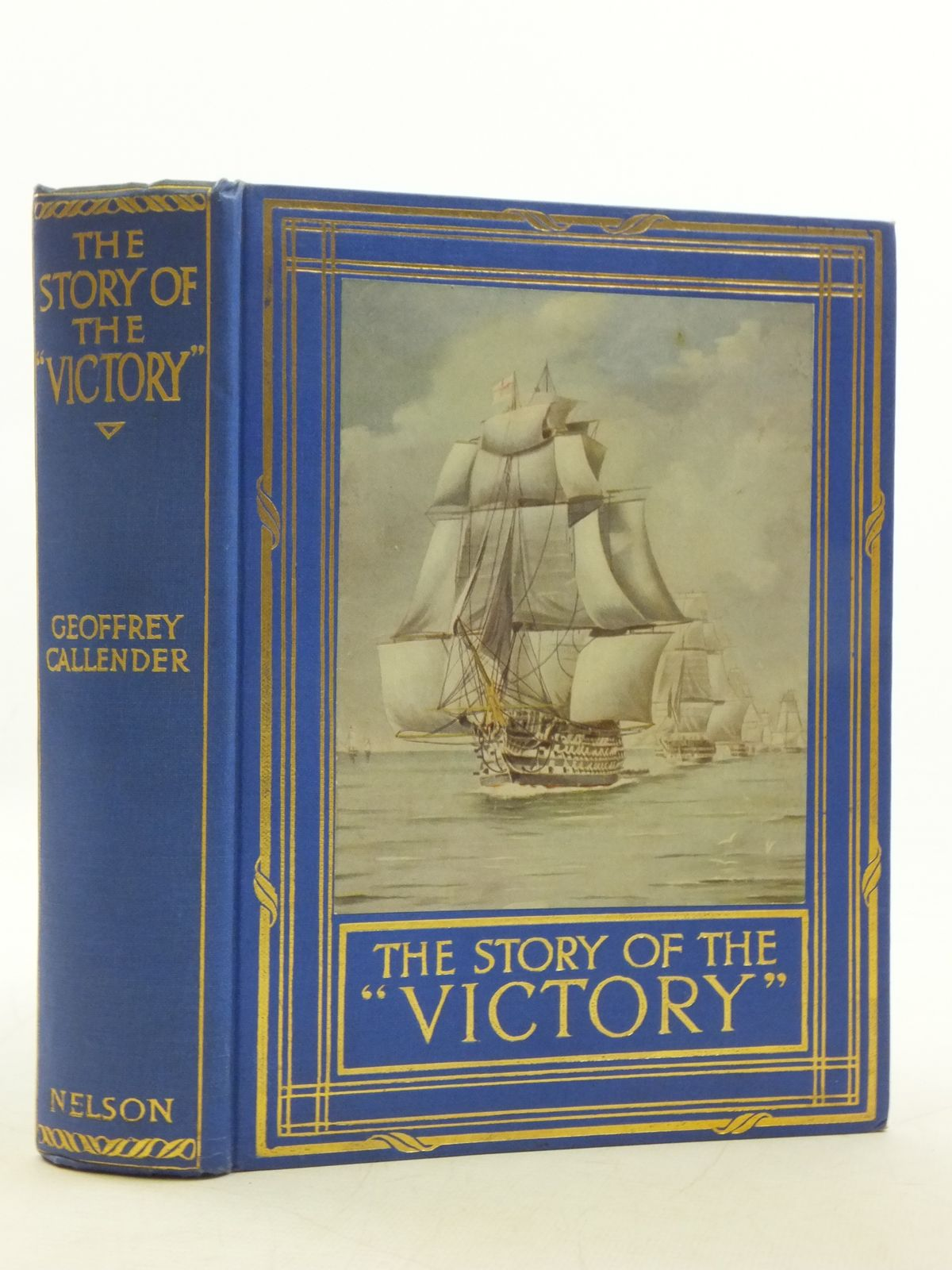 Photo of THE STORY OF H.M.S. VICTORY written by Callender, Geoffrey published by Thomas Nelson & Sons (STOCK CODE: 1605747)  for sale by Stella & Rose's Books