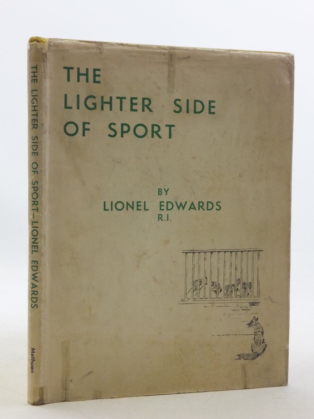 Photo of THE LIGHTER SIDE OF SPORT written by Edwards, Lionel published by Methuen & Co. Ltd. (STOCK CODE: 1605749)  for sale by Stella & Rose's Books
