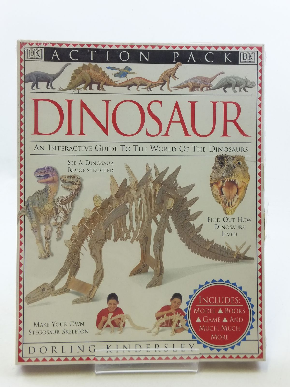 Photo of DINOSAUR ACTION PACK published by Dorling Kindersley (STOCK CODE: 1605762)  for sale by Stella & Rose's Books