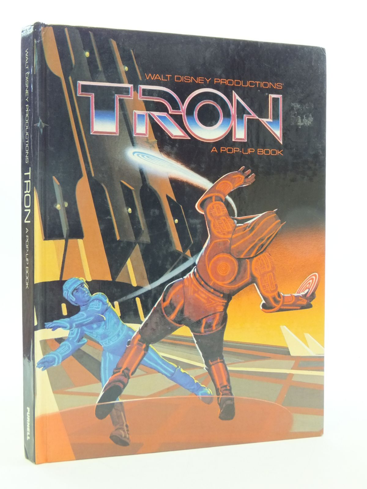 Photo of TRON A POP-UP BOOK