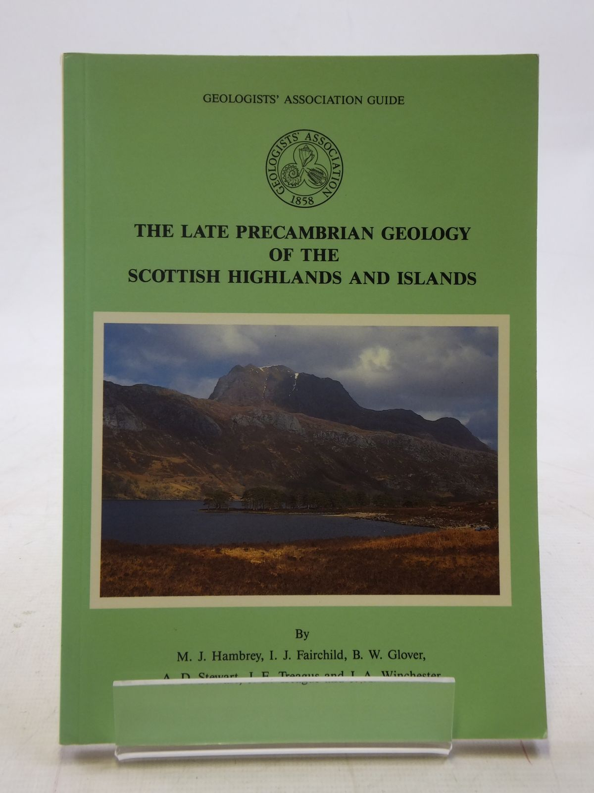 Photo of THE LATE PRECAMBRIAN GEOLOGY OF THE SCOTTISH HIGHLANDS AND ISLANDS written by Hambrey, M.J.<br />et al, published by The Geologists' association (STOCK CODE: 1605854)  for sale by Stella & Rose's Books