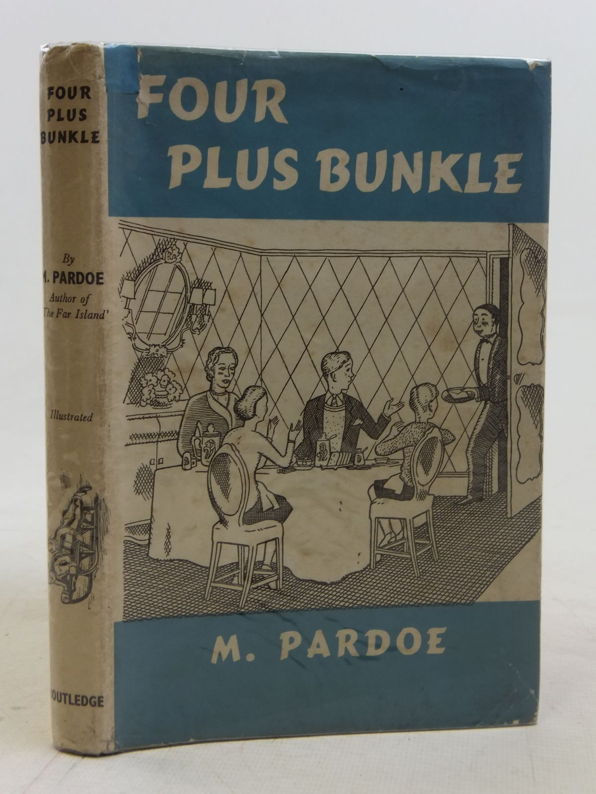 Photo of FOUR PLUS BUNKLE written by Pardoe, M. illustrated by Evans, J.D. published by George Routledge & Sons Ltd. (STOCK CODE: 1605995)  for sale by Stella & Rose's Books