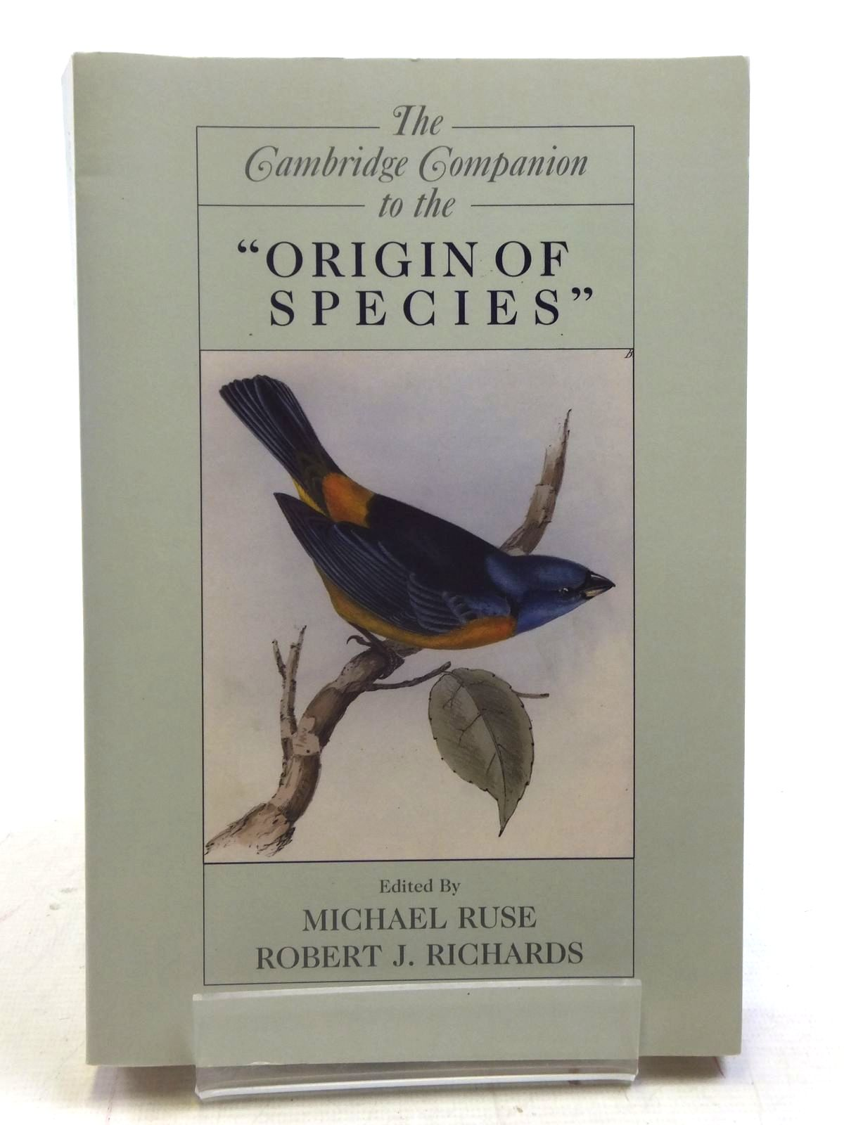 Photo of THE CAMBRIDGE COMPANION TO THE ORIGIN OF SPECIES written by Ruse, Michael<br />Richards, Robert J. published by Cambridge University Press (STOCK CODE: 1606009)  for sale by Stella & Rose's Books